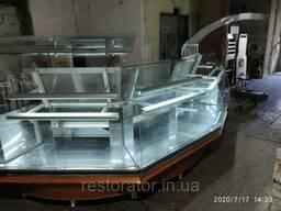 Холодильная витрина угловая IFI Bistro б/у