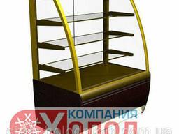 Холодильная витрина ВХСв - 0, 9д Carboma Люкс (K70 VV 0, 9-1)
