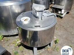 Холодильник для молока Б/У ALFA LAVAL на 200 литров открытог