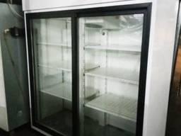 Холодильник для напитков со стеклянными дверьми Igloo OLA 1