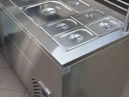 Холодильный прилавок для салатов и закусок холодных