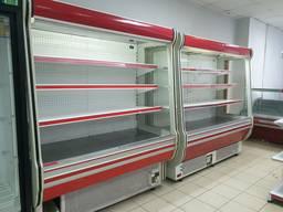 Холодильный регал Cold 2 м. бу. Стеллаж бу. Холодильник бу.