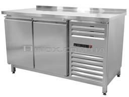 Холодильный стол 2-х дверный 1400х600х850