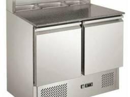 Холодильный стол для пиццы двухдверный CoolEQ PS 900
