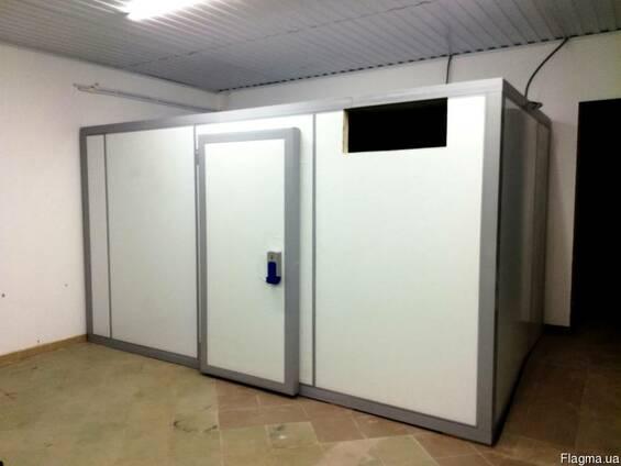 Холодильные камеры из сендвич панелей с монтажем.
