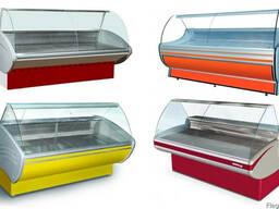 Холодильные витрины, морозильные и универсальные.