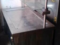 Холодный мармит 2 стеклянные полки бу