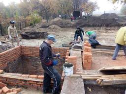 Строительства Пиромид Дома дачи бани сауны под ключ Днепр и