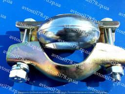 Хомут глушителя 2108, 2109, 21099 с кольцом
