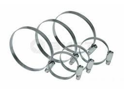 Хомут стяжной оцинкованная сталь 80-100 мм, 10 шт.
