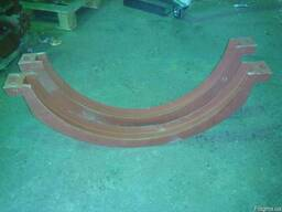 Хомуты стяжные литые для гранулятора ОГМ 1, 5