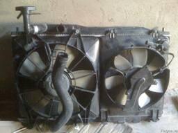 HONDA CIVIC 4D радиатор с дифHONDA CIVIC 4D радиатор с диффу
