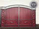 Двери, решетки, навесы, козырьки, ворота, калитки - фото 5