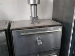 Хоспер б/у угольная печь для кафе ресторана бара комплект
