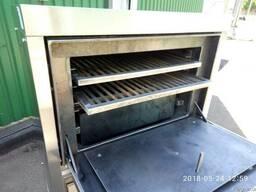 Хоспер ПДУ 800, печь на углях, закрытый мангал.