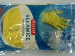 Хозяйственные перчатки с внутренним х/б напылением