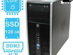 HP Compaq 6200 / i5-2400 (3.1-3.4 ГГц) / RAM 4 / SSD 128 gb - фото 1