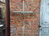 Хрест нержавіючий , Хрест із нержавійки - фото 2