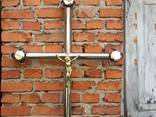 Хрест нержавіючий , Хрест надмогильний - фото 1