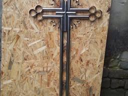 Хрест придорожній із нержавійки , Хрест малий