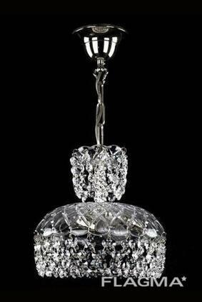 Хрустальная люстра Artglass Elaned II Chain nikl