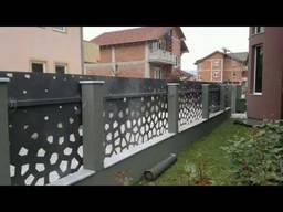Заборы, ограждение балкона художественной резки