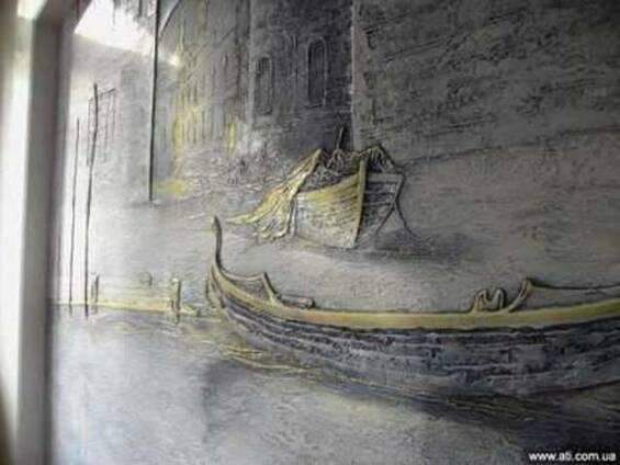 Художественное оформление стен, фрески