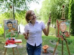 Художественный мастер класс от художника шаржиста