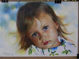 Художественный портрет на заказ - фото 2
