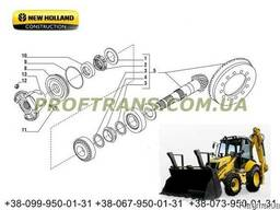 Хвостовик и планетарка New Holland LB110 нью холланд редукто