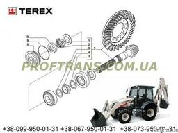 Хвостовик и планетарка TEREX 820 терекс редуктор