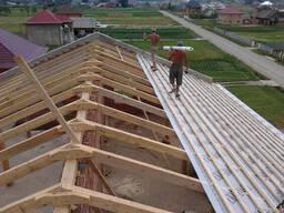 Иготовление деревянніх конструкций под металлочерепицу