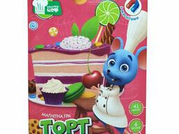 """Игра магнитная Vladi Toys """"Торт"""" (укр) (VT3004-01)"""