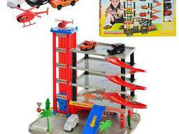 Игровой гараж Joy Toy (набор) (0845)