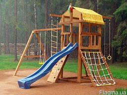 Игровой комплекс для детей, детская площадка для дачи BL-3