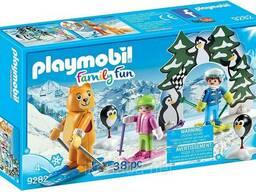 Игровой набор ПлейМобил Урок катания на лыжах Playmobil®. . .