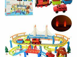 Игровой набор Железная дорога METR+ со звуковыми эффектами (PYK5)