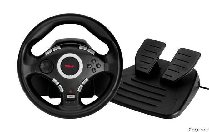 Игровой руль Trust GXT 27 Force Vibration Steering Weel