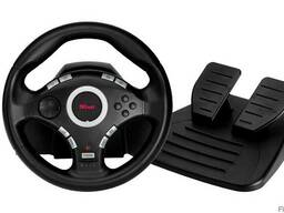 Игровой руль Trust GXT 27 Force Vibration Steering Weel