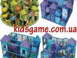 Игровые мягкие модули для детей Детские лабиринты Мягкие. ..