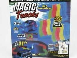 Игрушечная дорога Magic Tracks 220 деталей 2 машинки