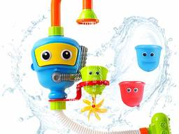 Игрушка для ванны Water Spraying Robot Fountain
