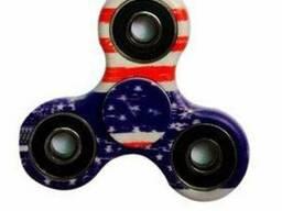 Игрушка Fidget Spinner Америка (Хенд Спиннер Антисресс), спи