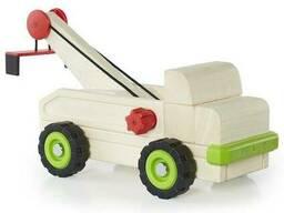 Игрушечная машина Guidecraft Block Science Trucks Большой эвакуатор (G7532)