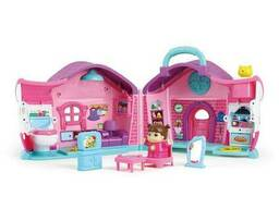 Игрушка музыкальная Hola Toys Кукольный домик Эммы (3128B)