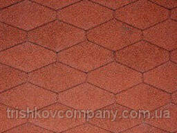 IKO Monarch Diamant Tile Red - высококлассная битумная. ..