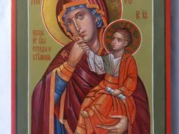 Икона Божией Матери «Отрада» («Утешение») Богородица Ватопед