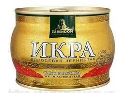 Икра красная горбуши TM Zarendom Premium Gold, 500 грамм