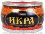 Икра красная кеты ТМ Лемберг, ж/б 400 грамм