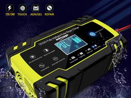 Импульсное автомобильное зарядное устройство 12V/8A 24V/4A